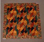 Wallhanging quilt