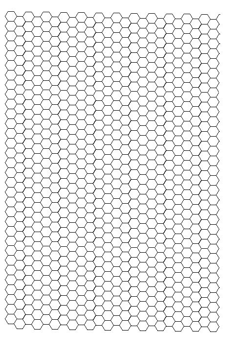 MiniMum  Hexagon Grid